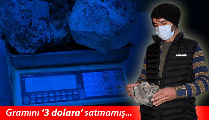 Meteorit diye sakladı, gramını 3 dolara satmadı... Beş yıl sonra şaşkına döndü