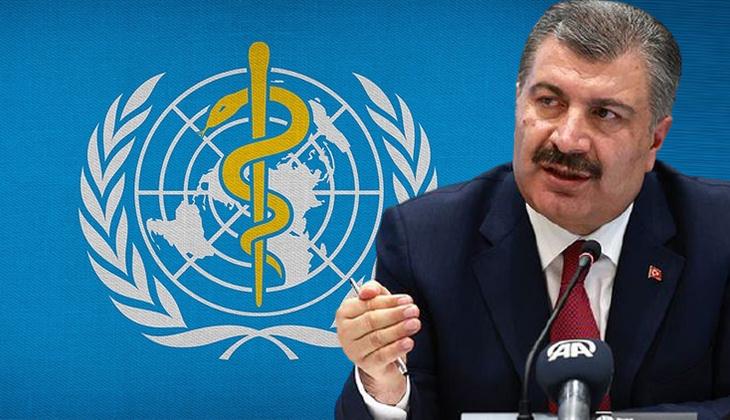 Son dakika haberi: Sağlık Bakanı Fahrettin Koca, DSÖ'nün medya brifinginde anlamlı mesaj: Tüm insanlığın şükran duyduğu insanlarsınız...