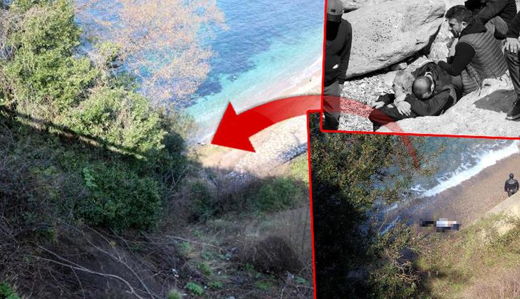 Zonguldak'ta feci olay! Otomobil 200 metreden denize uçtu... Kahreden haber