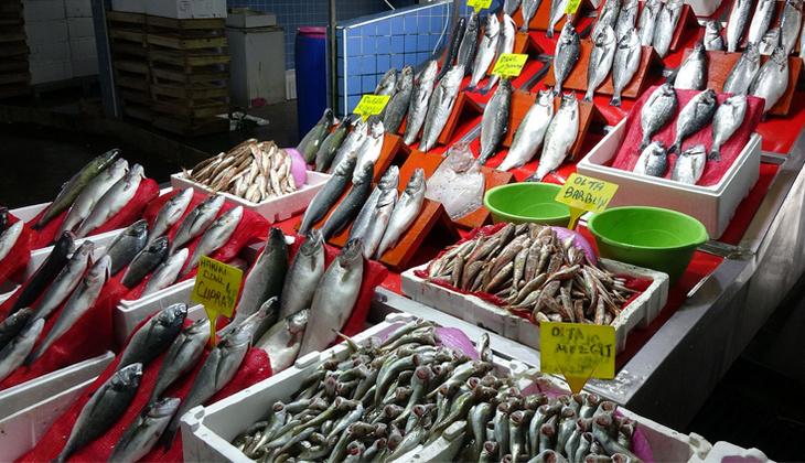 Samsun'da av yasağı öncesi balıklara yoğun talep