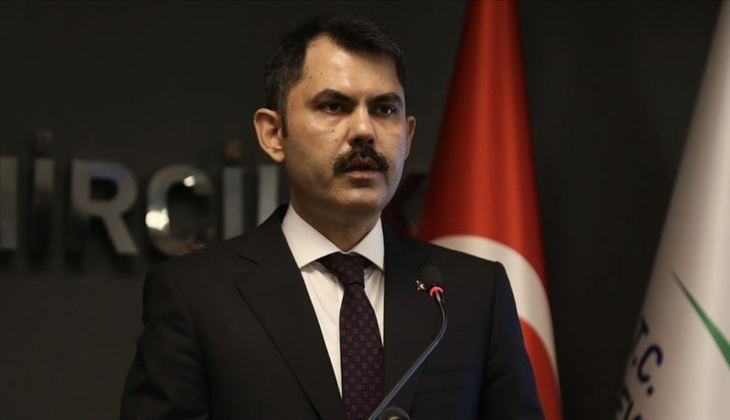 """Bakan Kurum'dan """"Kanal İstanbul'u yapacağız"""" mesajı"""