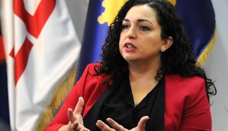 Vyosa Osmani Kosova'nın yeni cumhurbaşkanı oldu
