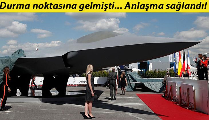 Anlaşma sağlandı: İşte Avrupa'nın yeni nesil savaş uçağı