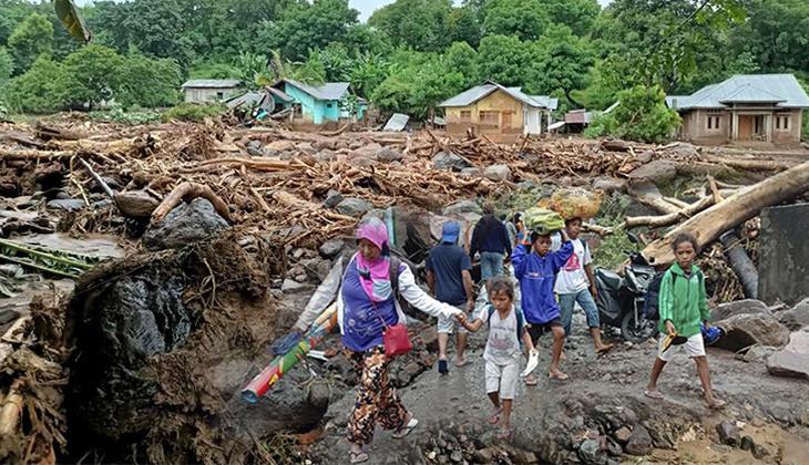 Tropik kasırga felaketinde can kaybı artmaya devam ediyor!