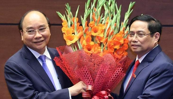 Vietnam'ın Eski Başbakanı Phuc, devlet başkanlığı görevine yemin ederek başladı