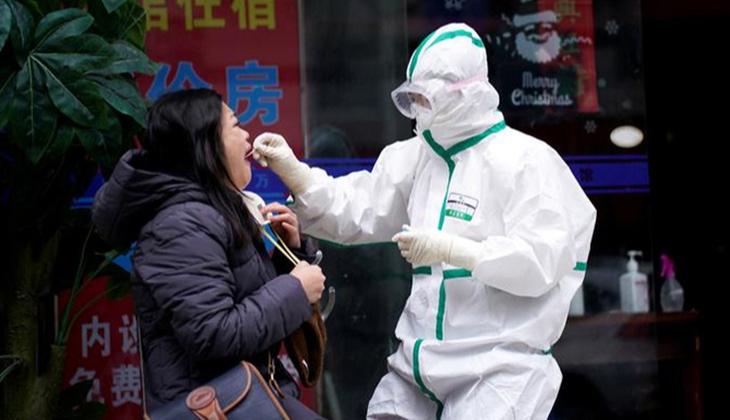 Çin'de 2 ay sonra en yüksek günlük vaka artışı