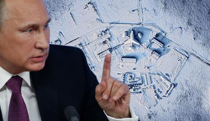 Putin'in 'gizli planı' uyduya yakalandı!
