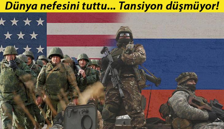 Sınırda tansiyon düşmüyor: ABD'den Rusya'ya flaş çağrı