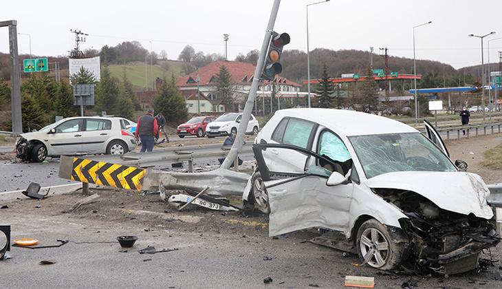 Bolu'da feci kaza! Ortalık savaş alanına döndü
