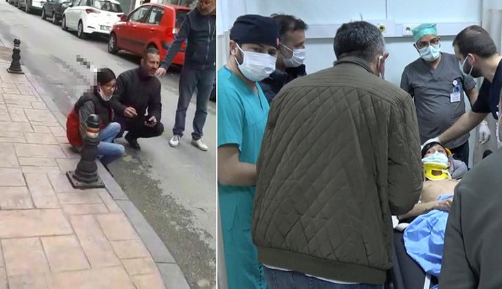 Samsun'da sokak ortasında dehşet