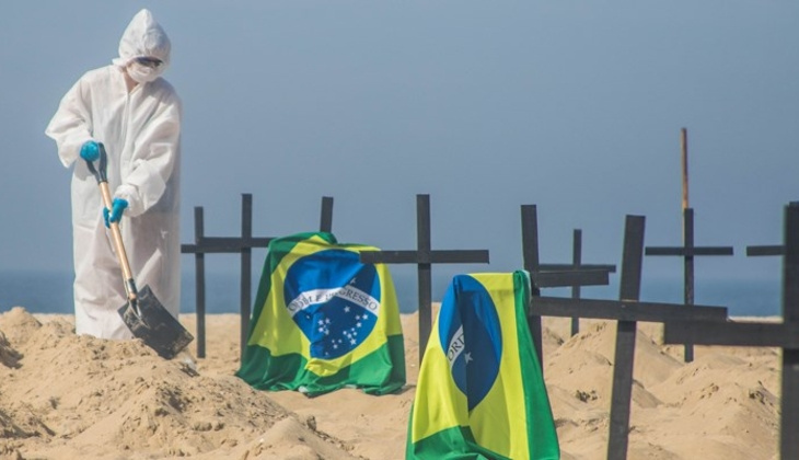 Son dakika haberi: Brezilya'da korkunç tablo! Ölenlerin sayısı ilk kez 4 bini geçti