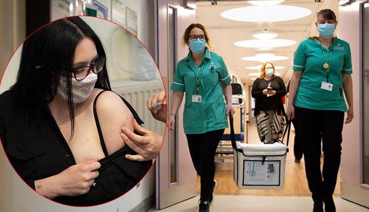 Son dakika haberler: Sağlık Bakanı açıklamıştı... İngiltere'de ilk doz Moderna aşısı yapıldı!