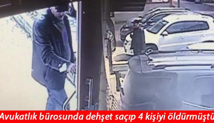 Son dakika... Kartal'da avukatlık bürosunda 4 kişiyi öldürmüştü! Ahmet Salih Bilginer tutuklandı