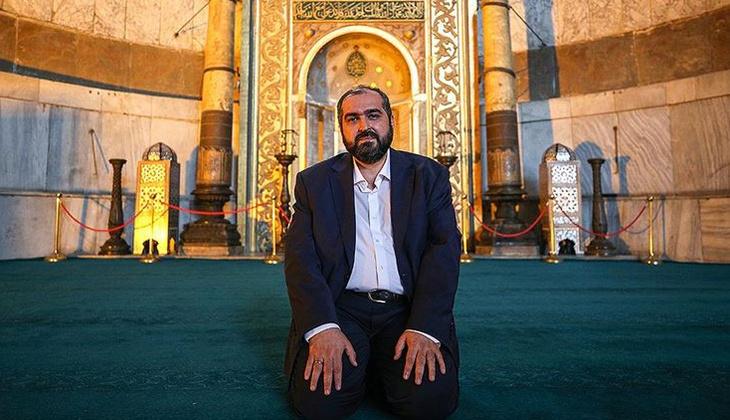 Son dakika... Ayasofya imamı Prof. Dr. Mehmet Boynukalın görevden ayrıldı