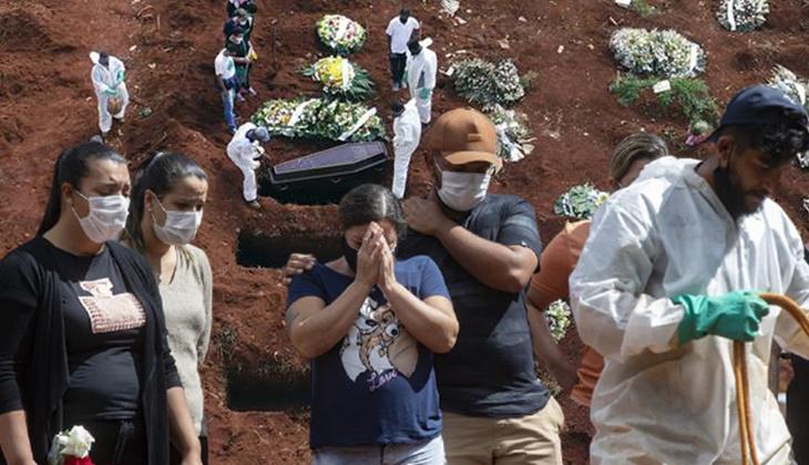 Brezilya'da görülmemiş kâbus! Bir günde 4 binden fazla ölüm