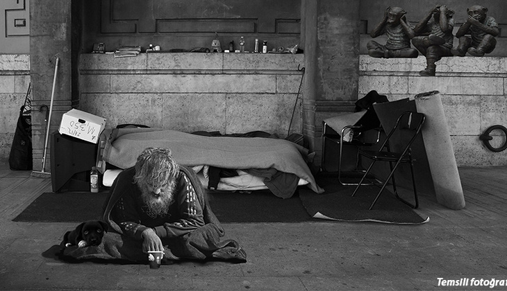 Kaliforniya'da evsizleri zehirledi! Utanmadan filme çekti