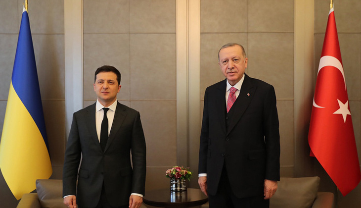 Son dakika... Cumhurbaşkanı Erdoğan ile Ukrayna Devlet Başkanı Zelenskiy görüşmesi başladı!