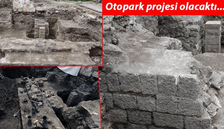 Trabzon'da kazı çalışmaları sırasında bulundu! Müzeye dönüştürülecek