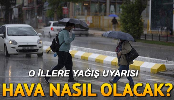 Kar ve yağmur uyarısı - Pazar günü hava nasıl olacak? MGM 11 Nisan İstanbul, Ankara, İzmir ve il il hava durumu tahminleri