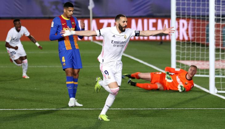 Real Madrid 2 - 1 Barcelona (El Clasico maçının özeti)