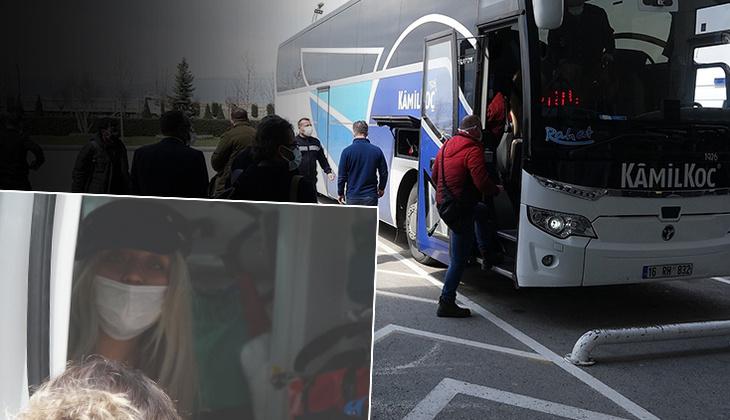 Otobüste koronavirüs paniği