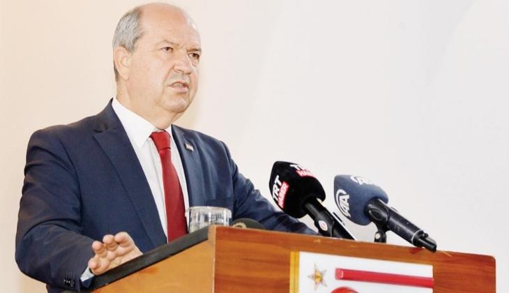 Tatar: Kıbrıs'taki tezgâhı bozacağız