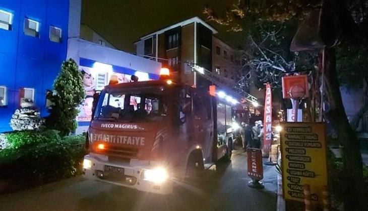 İstanbul'da özel hastanede yangın paniği!
