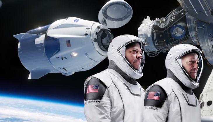 SpaceX'in uzay görevinde 'UFO' uyarısı