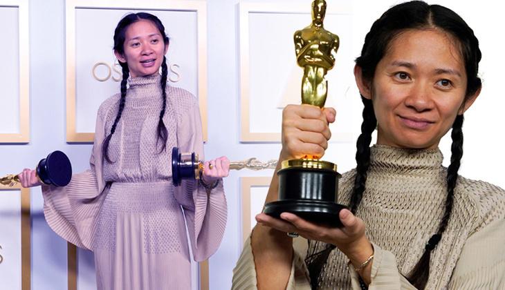 """Oscar'da en iyi film seçilen """"Nomadland'in"""" yönetmeni Zhao'nun başarısı, ülkesi Çin'de sansüre uğradı"""