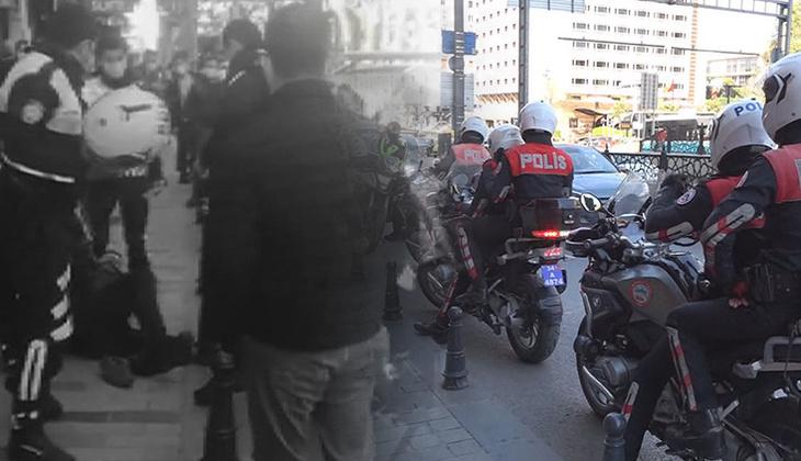 İstanbul'da banka şubesinde büyük panik! Bıçakla içeri gererek tehditler savurdu