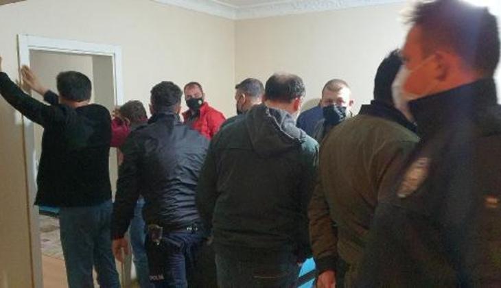 Polis baskın yaptı, boş dairelerde yakalandılar