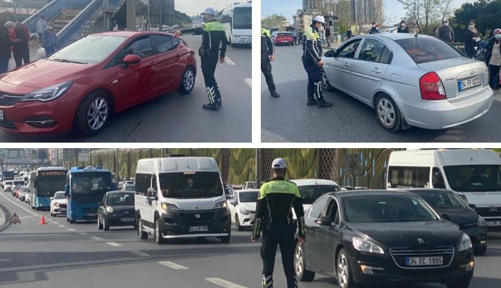 Polis tek tek durdurdu... Ceza yağdı!