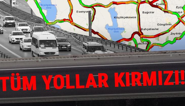 Son dakika... İstanbul'dan 'tam kapanma' göçü! Trafik kilitlendi