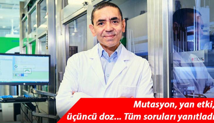 Son dakika haberler... Uğur Şahin'den Türkiye açıklaması!