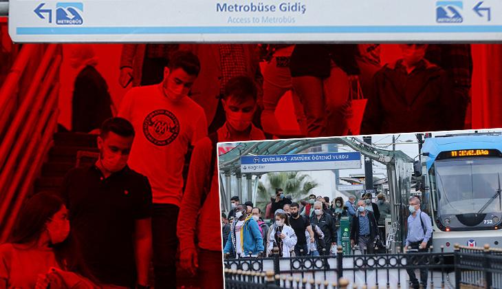 """Son dakika: İstanbul'da toplu taşımaya """"tam kapanma"""" düzenlemesi"""