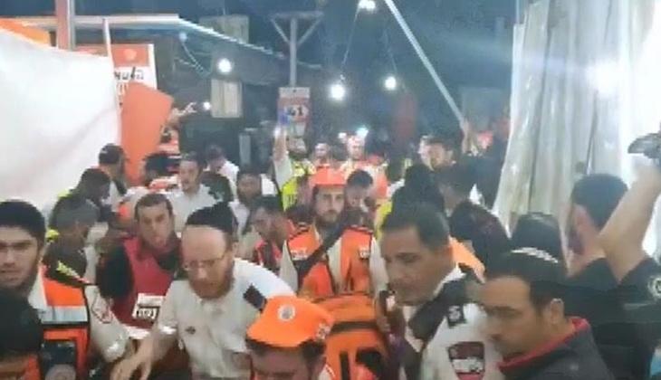 Son dakika haberi: İsrail'de Lag BaOmer Bayramı kutlamalarında facia! Çok sayıda ölü ve yaralı var