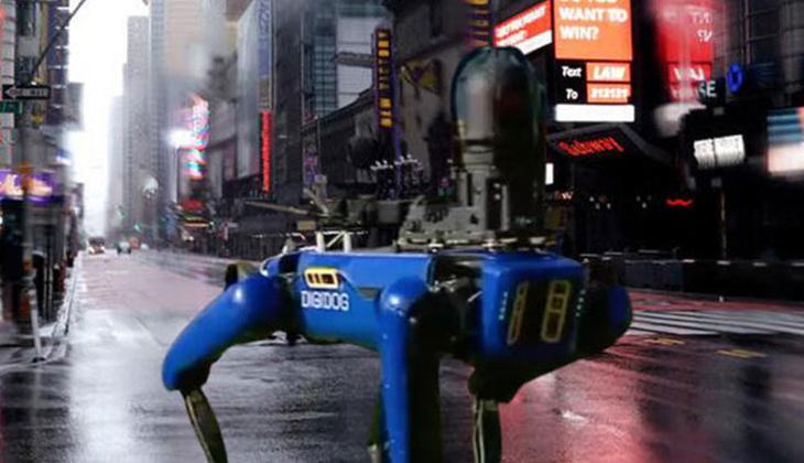 ABD polisi robot kullanımına son verdi