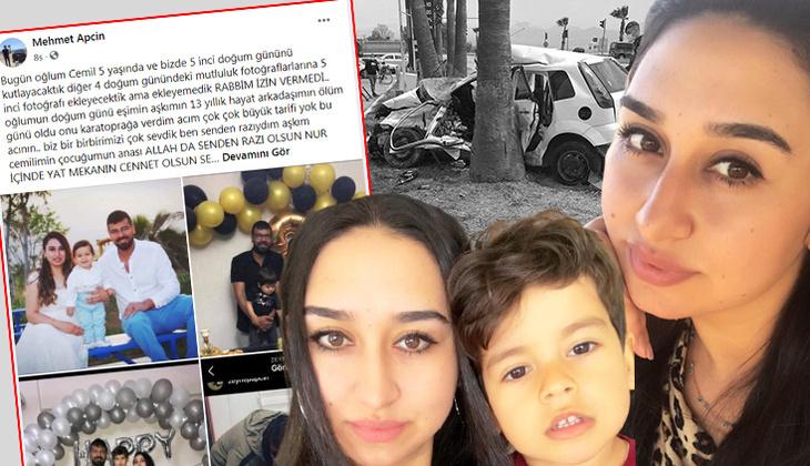 Zeynep'in eşinden duygusal paylaşım... Oğlunun doğum günü alışverişine giderken kazada hayatını kaybetmişti