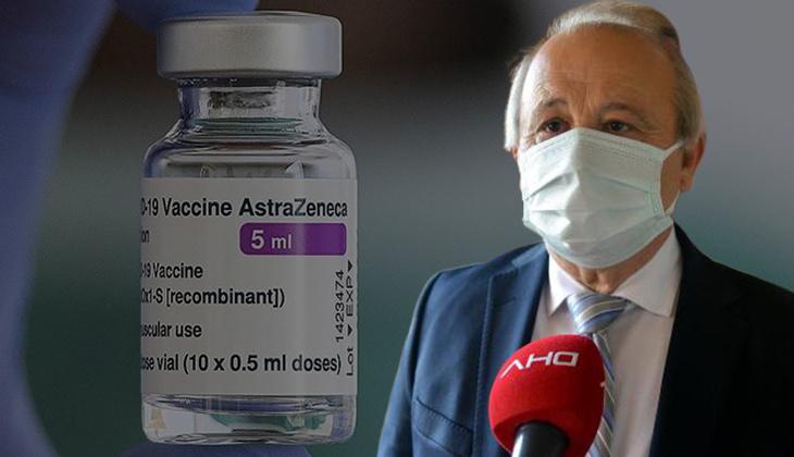 Bilim Kurulu Üyesi Prof. Dr. Levent Akın'dan AstraZeneca aşısı açıklaması!