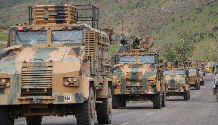 Şırnak'ta hem havadan hem karadan askeri hareketlilik!