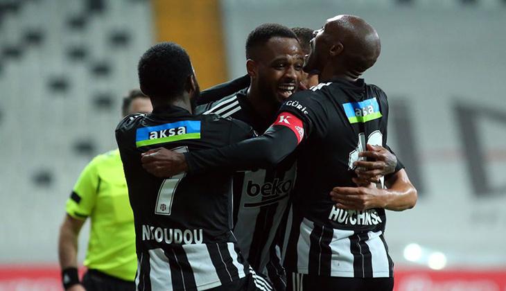 Beşiktaş 7-0 Hatayspor (Maçın özeti ve golleri)