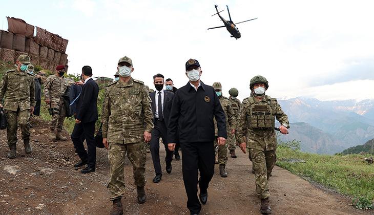 Son dakika: Bakan Akar'dan Pençe-Şimşek ve Pençe-Yıldırım operasyonu açıklaması