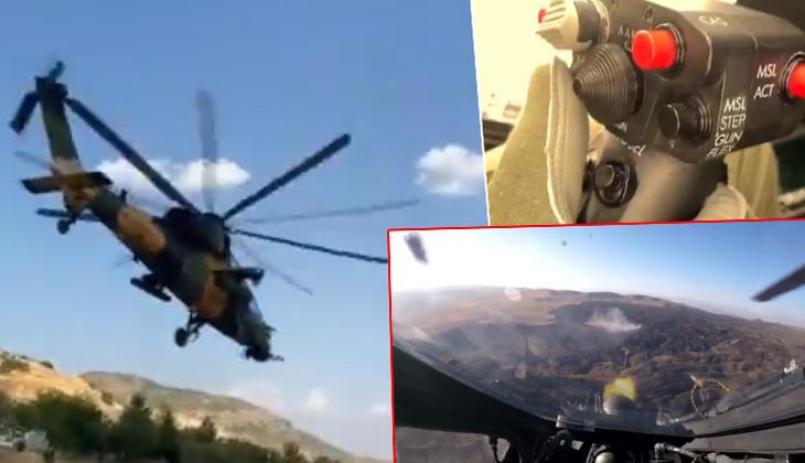 Son dakika haberi: MSB duyurdu! Atak helikopteri ile etkisiz hale getirildiler
