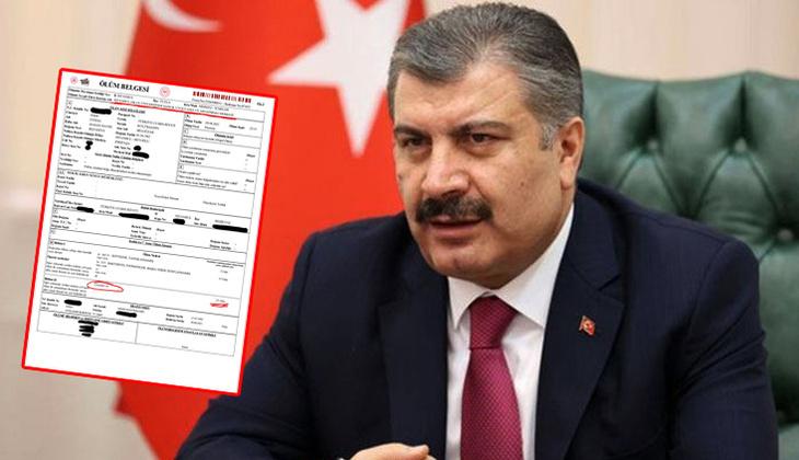 Son dakika haberi: Sağlık Bakanı Fahrettin Koca'dan o iddialara belgeli yanıt