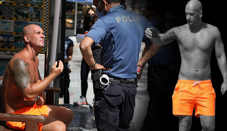 Antalya'da ilginç anlar... Turistten ahlaksız teklif! Gözaltına alındı