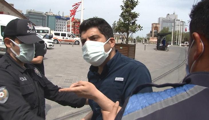 İkamet kartı bulunan İranlı'ya polisten tepki! Neye uğradığını şaşırdı