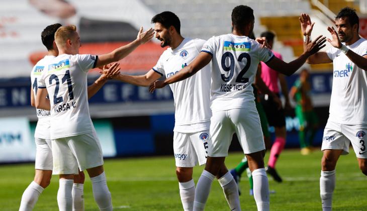 Kasımpaşa 3 - 0 Alanyaspor (Maç özeti)