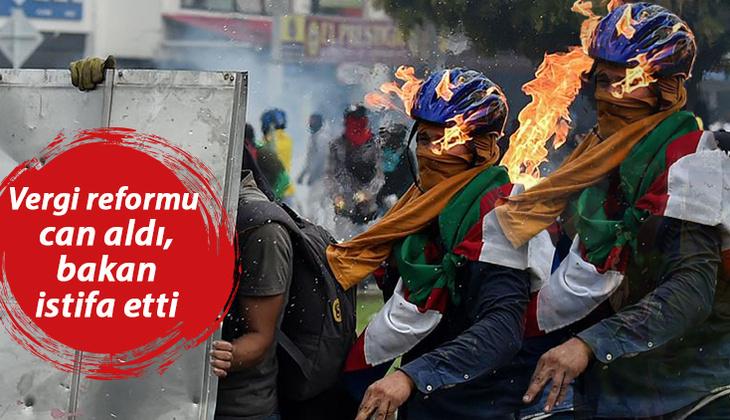 Son dakika haberler... Kolombiya yangın yeri! 5 günde 17 kişi hayatını kaybetti