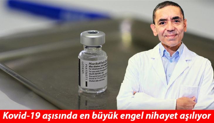 Son dakika: Uğur Şahin'den müjdeli haber... Daha uzun süre dayanan Kovid-19 aşısı yolda!