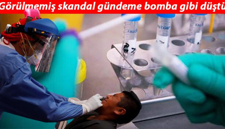 Endonezya'da skandal! Kovid-19 test çubuklarını yıkayıp tekrar kullanmışlar